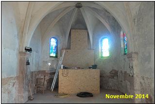 Chapelle Saint-Roch - Novembre 2014