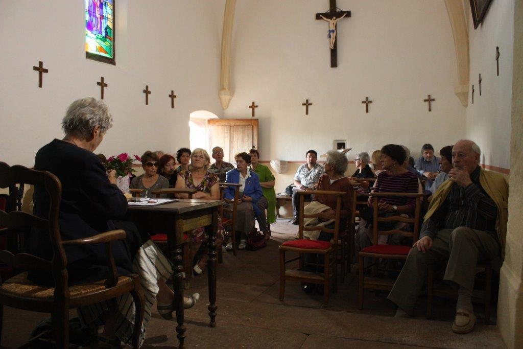 Conférence sur Le Chant de Bernadette IMG_9556
