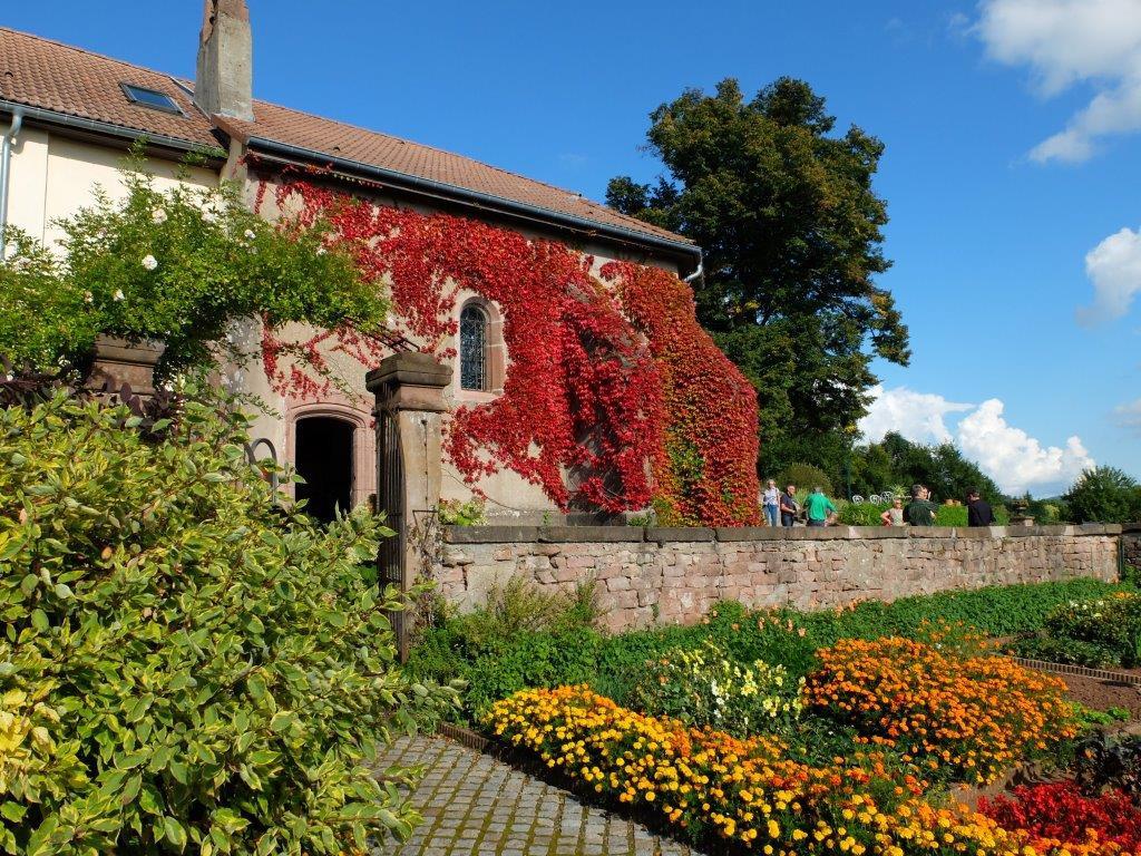 Chapelle et jardins en fleurs DSCF4787