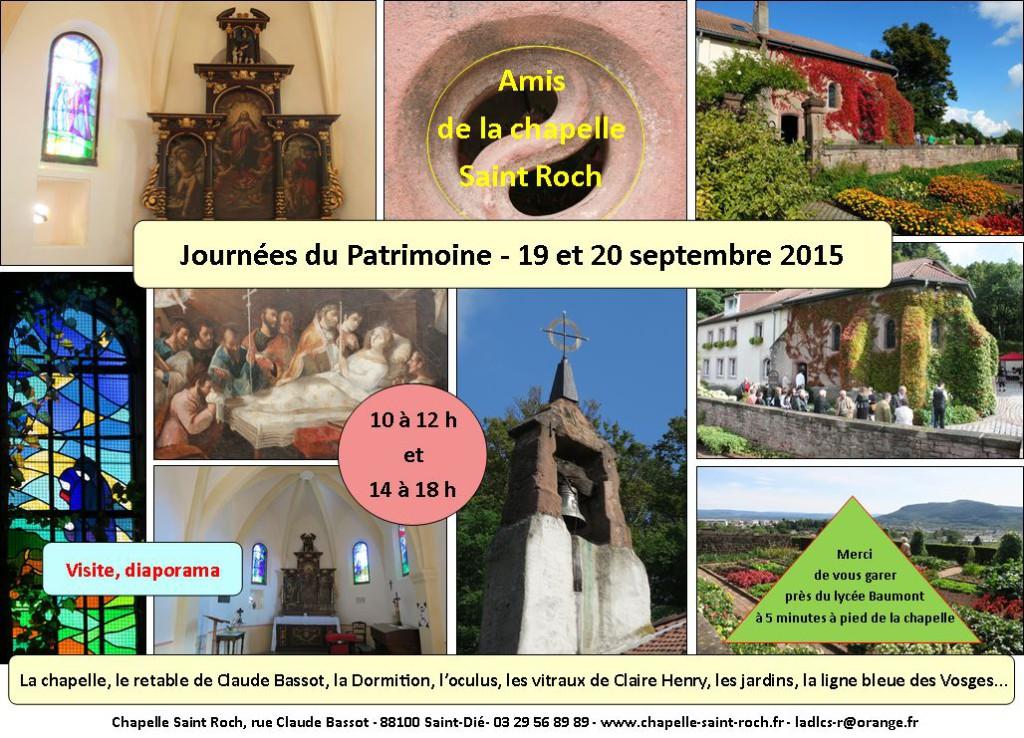 Jiournées du patrimoine 2015