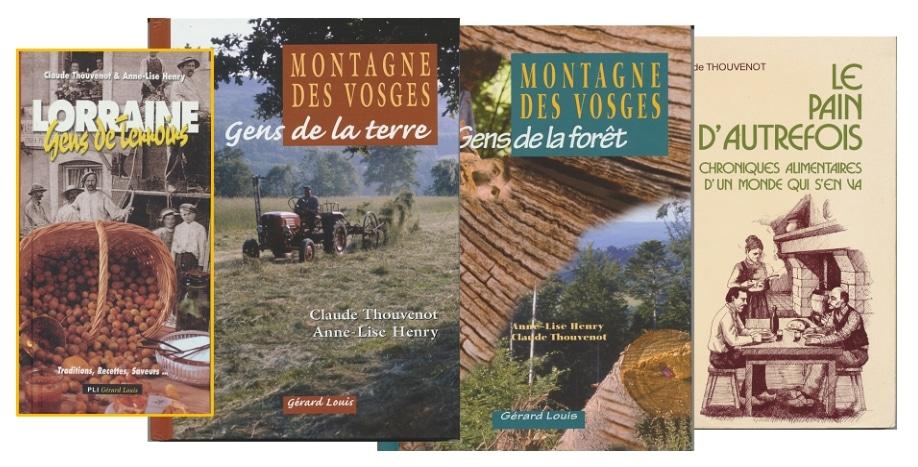 Livres de Claude Thouvenot
