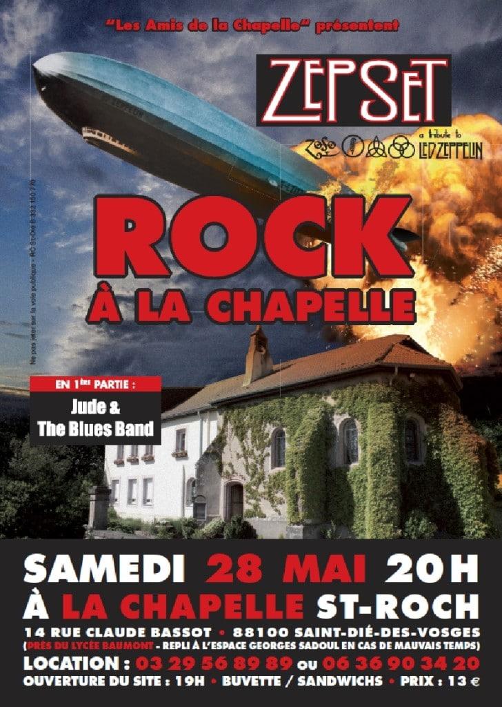 Affiche Rock à la Chapelle