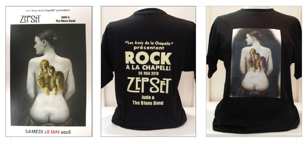 Affiche et T-shirt Rock 2016