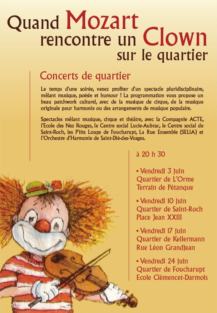 Quand Mozart rencontre un clown