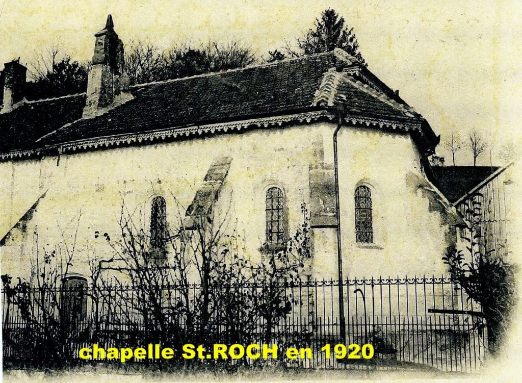 Photo de la chapelle il y a 100 ans