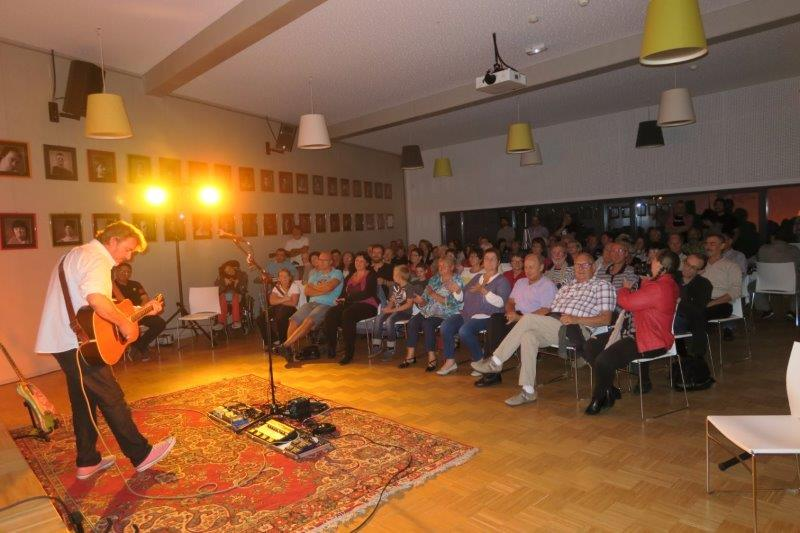 Photo du concert de Fred Blondin