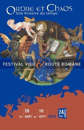 Photo de l'affiche Festival Voix et Route Romane 2016