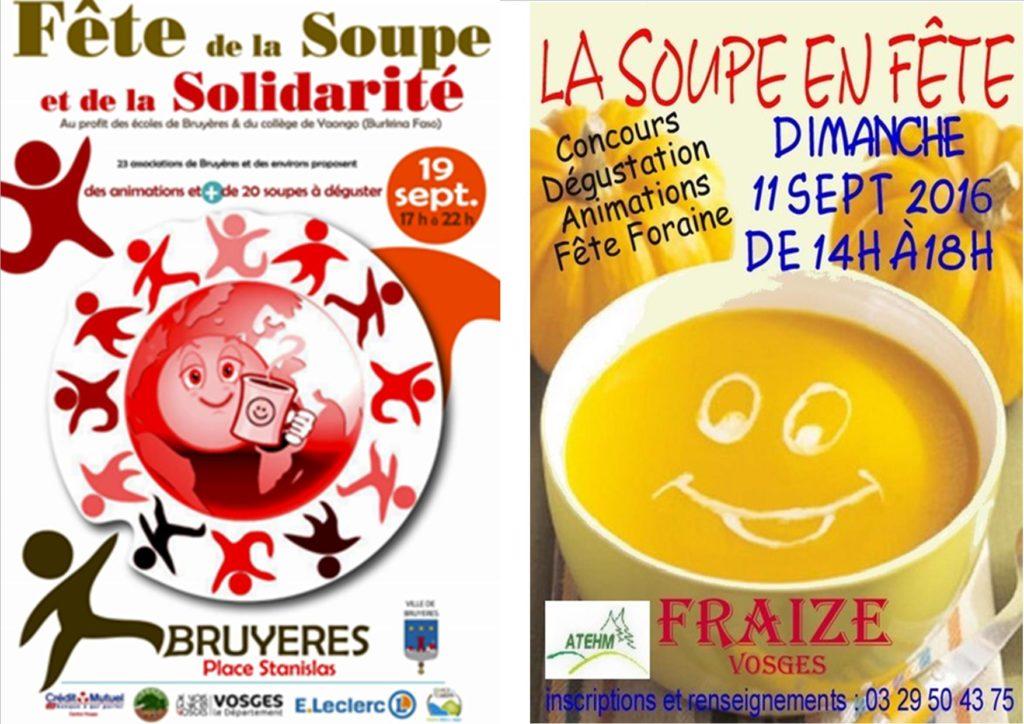 Affiches fêtes de la soupe