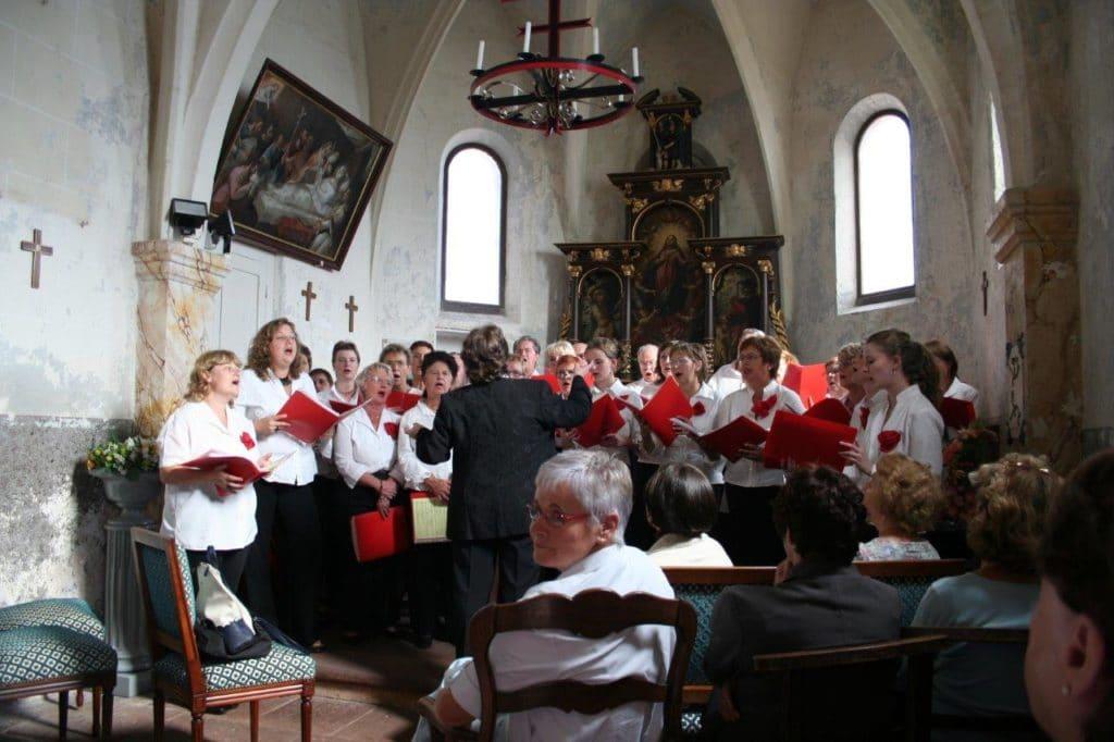 Photo de la chorale en septembre 2016