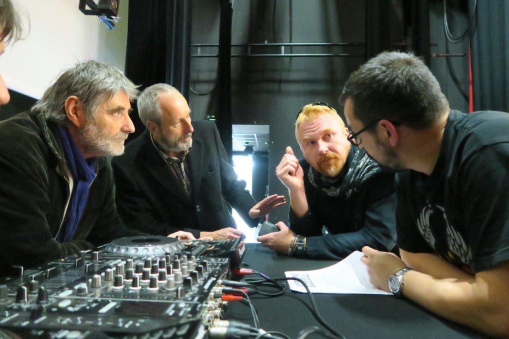 Photo de la réunion technique à l'Espace Georges Sadoul