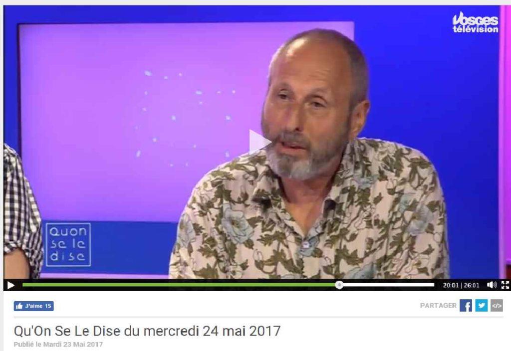 Copie d'écran de Vosges Télévision