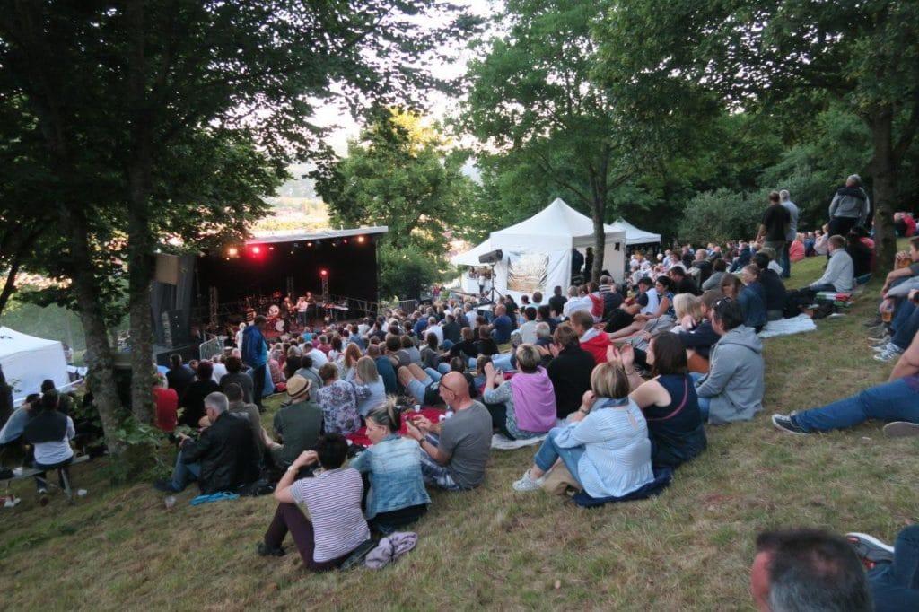 Rock à la Chapelle, les spectateurs le 9-6-2017