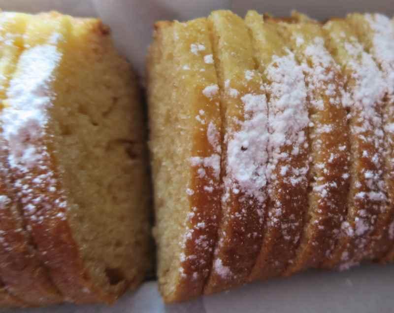 photo du cake au miel