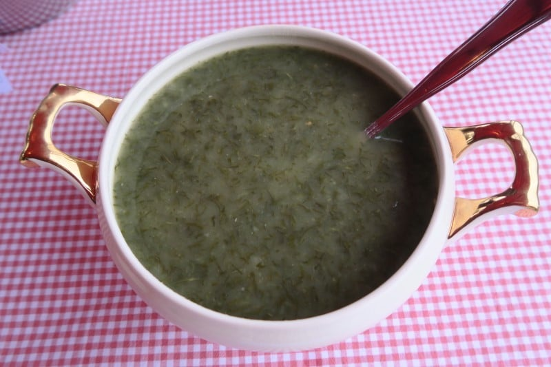 Photo d'une soupe portugaise caldo-verde