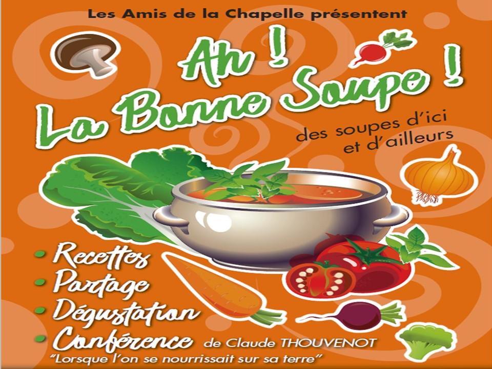 Affiche de l'animation sur la soupe 2017