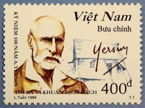 Alexandre Yersin-Timbre du Vietnam